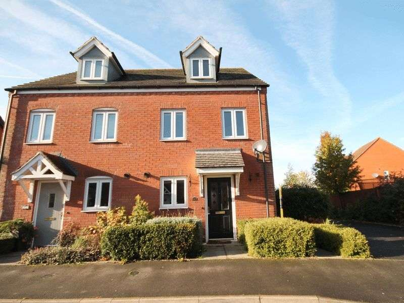 3 Bedrooms Semi Detached House for sale in Priors Lane, Market Drayton