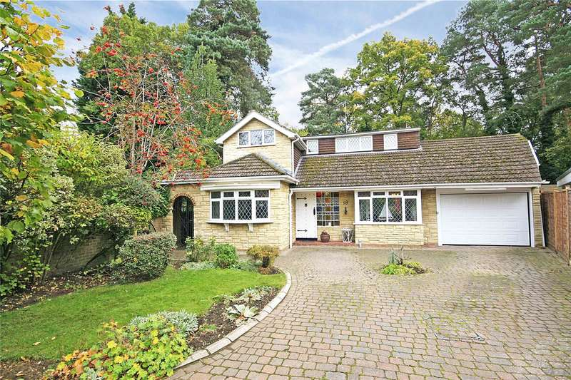 3 Bedrooms Detached House for sale in Tanglewood Close, Pyrford, Surrey, GU22