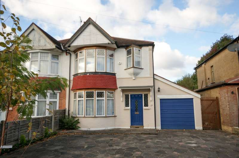 3 Bedrooms Semi Detached House for sale in Grove Road, Pinner