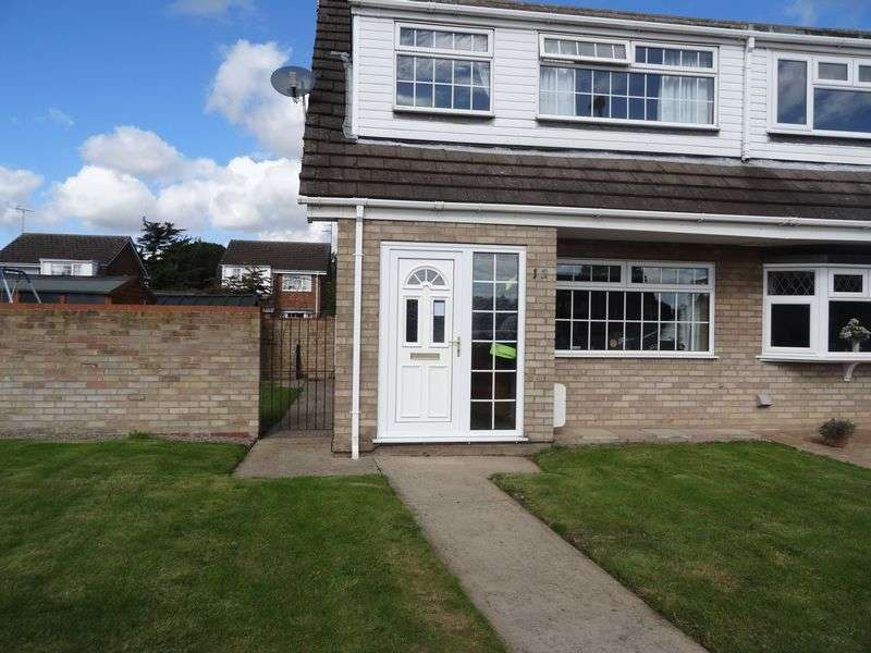3 Bedrooms Semi Detached House for sale in Ash Court, Spalding