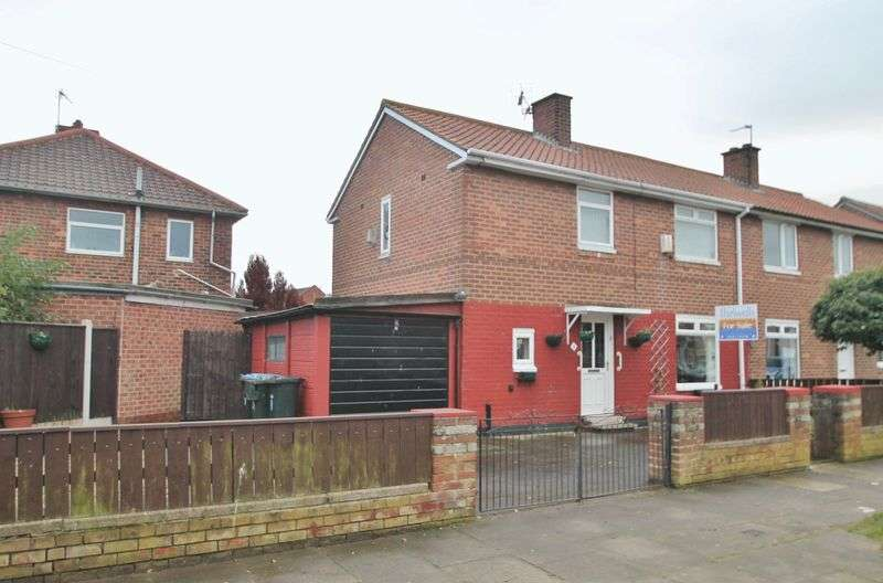 3 Bedrooms Semi Detached House for sale in Kelvin Grove, Park End