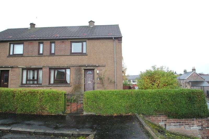 2 Bedrooms Semi Detached House for sale in Hawthorne Avenue, Tillicoultry