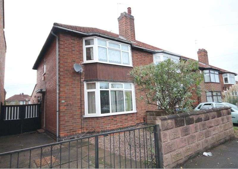 3 Bedrooms Semi Detached House for sale in BALFOUR ROAD, DERBY