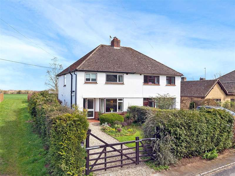 3 Bedrooms Semi Detached House for sale in Hill Rise, Woodstock, Oxfordshire, OX20