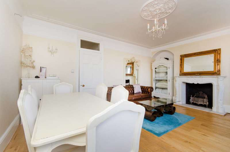3 Bedrooms Flat for sale in Smyrna Road, West Hampstead, NW6