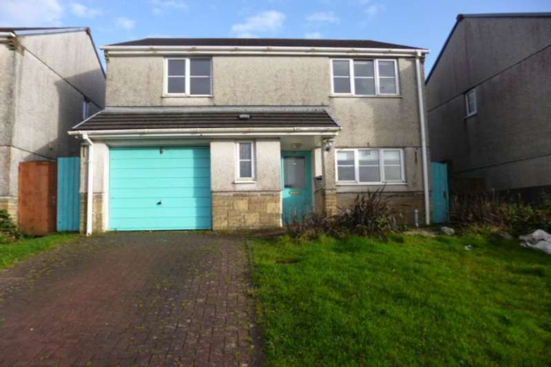 4 Bedrooms Detached House for sale in Hillside Meadows, Foxhole, St. Austell, PL26