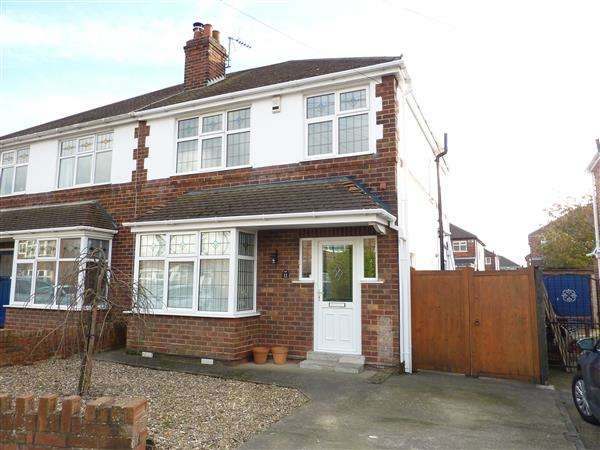3 Bedrooms Semi Detached House for sale in FRUSHER AVENUE, SCARTHO, GRIMSBY