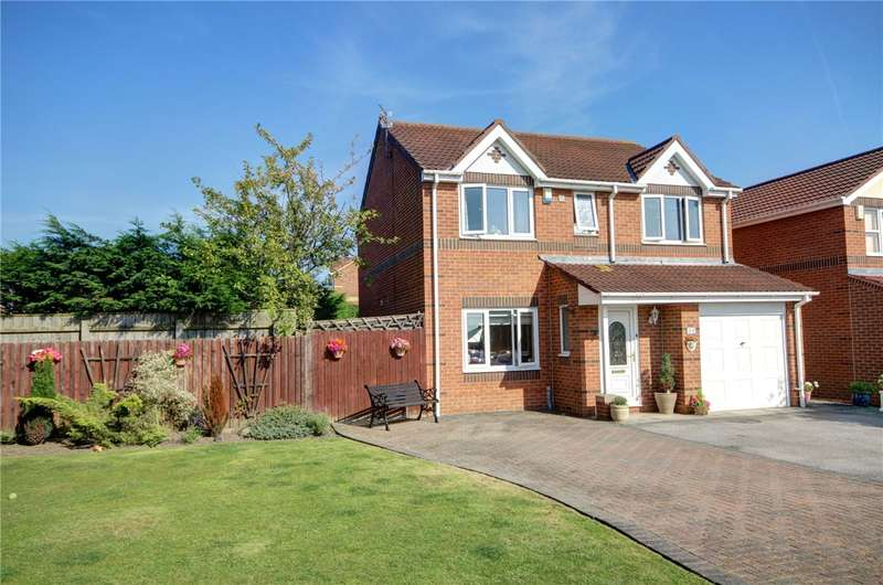 4 Bedrooms Detached House for sale in Railway Close, Sherburn Village, Durham, DH6