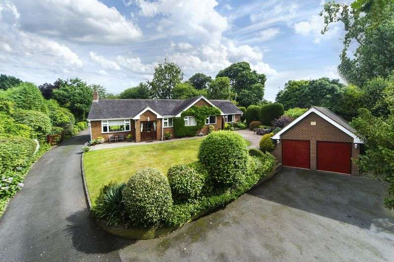 4 Bedrooms Detached House for sale in Horsebrook Hall Lane, Brewood, Stafford