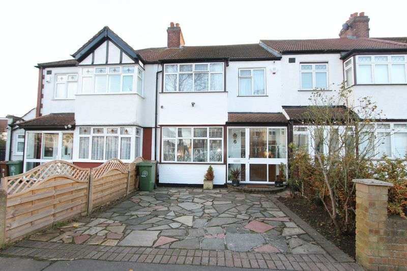 3 Bedrooms Terraced House for sale in Buxton Crescent, Cheam