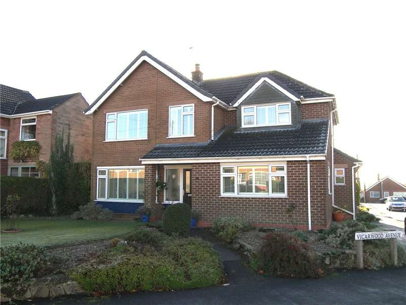 4 Bedrooms Detached House for sale in Moorfield Road, Holbrook, Belper, Derbyshire, DE56