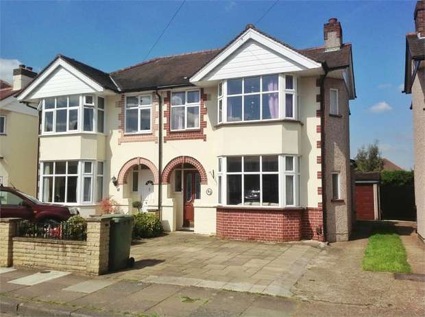 3 Bedrooms Semi Detached House for sale in Station Avenue, Ewell