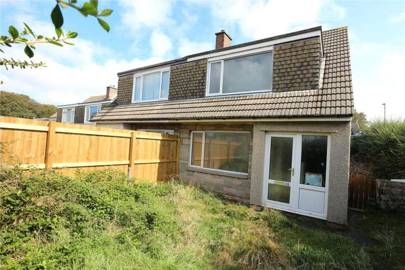 3 Bedrooms End Of Terrace House for sale in Rosevean Avenue, Camborne, Cornwall