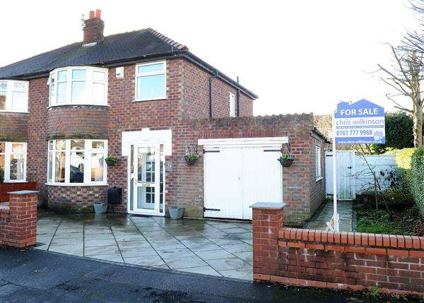 3 Bedrooms Semi Detached House for sale in 14 Elm Road, Hollins Green WA3 6LP
