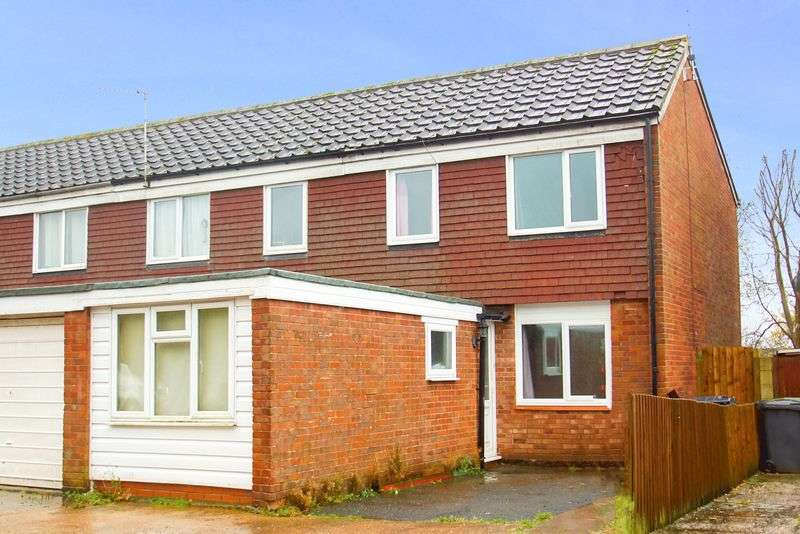 4 Bedrooms Semi Detached House for sale in Ryton Close, Matchborough West, Redditch, Worcestershire