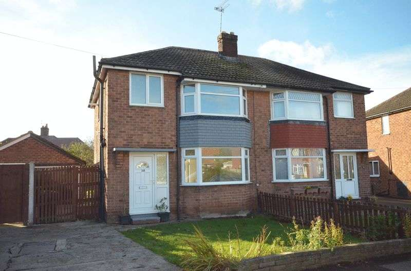 3 Bedrooms Semi Detached House for sale in Oldfield Crescent, Chester