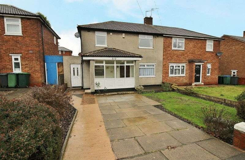 3 Bedrooms Semi Detached House for sale in Walsall Road, West Bromwich