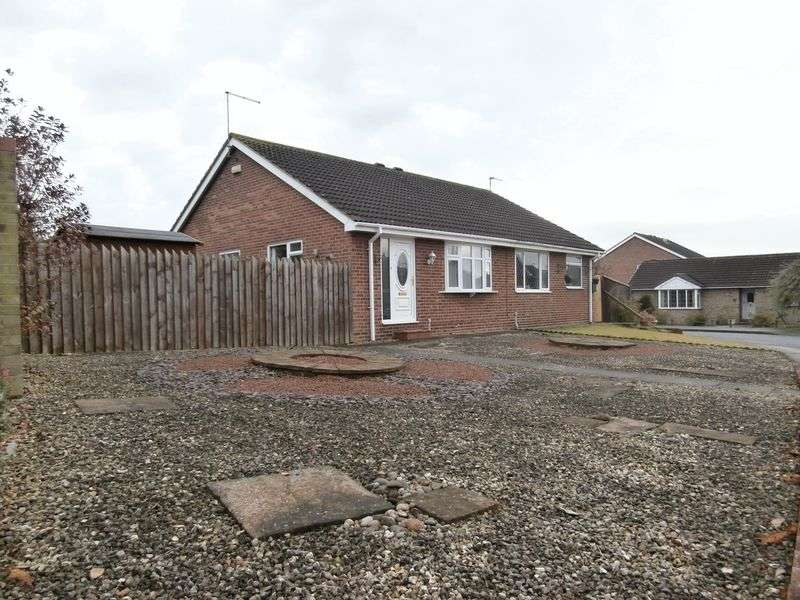 2 Bedrooms Semi Detached Bungalow for sale in Beech Avenue, Thorngumbald