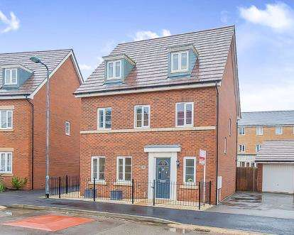 5 Bedrooms Detached House for sale in Apollo Avenue, Peterborough, Cambridgeshire, United Kingdom