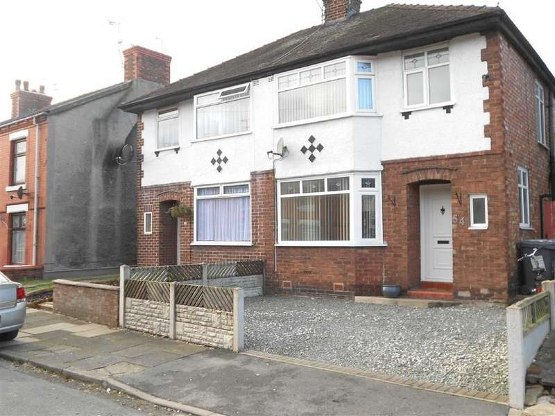3 Bedrooms Property for sale in Newfield Drive, Crewe, Cheshire