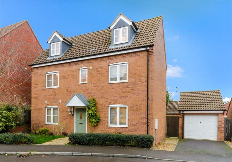 4 Bedrooms Detached House for sale in Thorneydene Gardens, Grantham, NG31