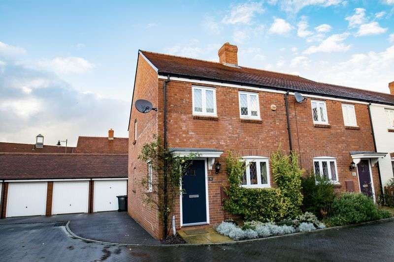 3 Bedrooms Semi Detached House for sale in Nicolls Close, Ampthill