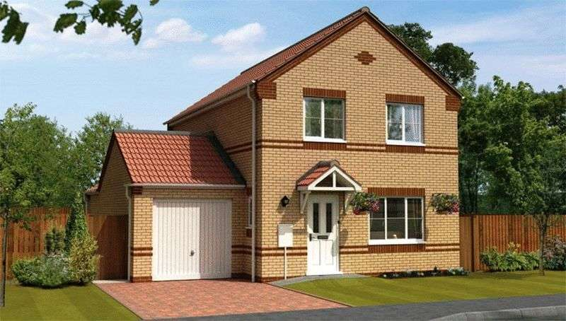 4 Bedrooms Detached House for sale in WAVERLEY - Minster Fields, Lincoln