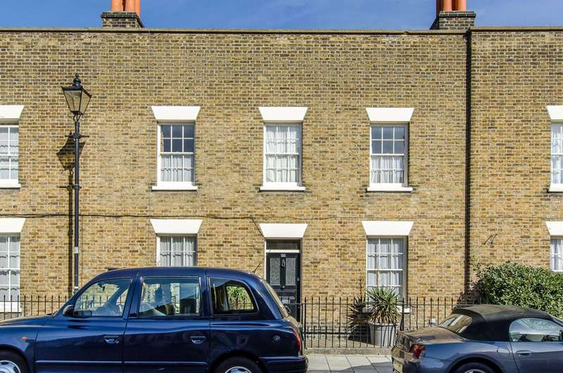 3 Bedrooms House for sale in Walcot Square, Kennington, Kennington, SE11