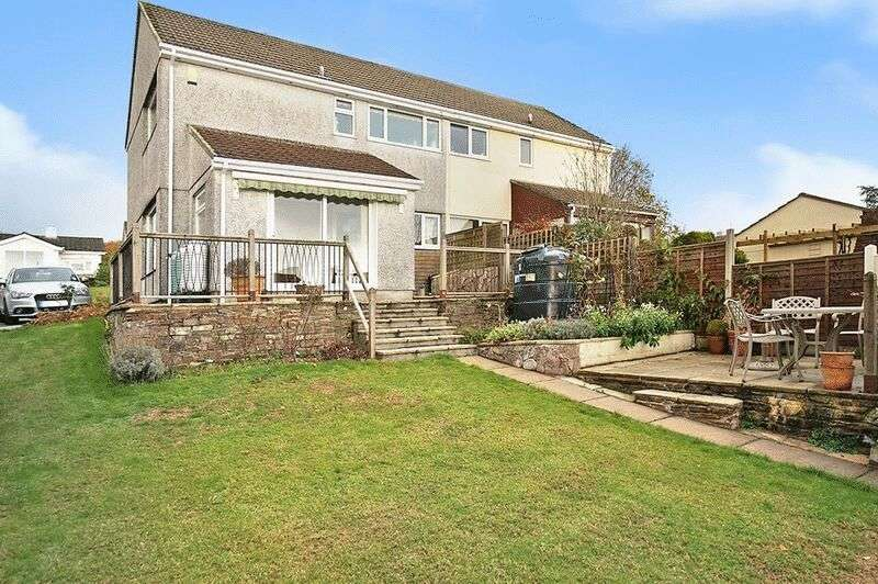 3 Bedrooms Semi Detached House for sale in Pillaton, Saltash
