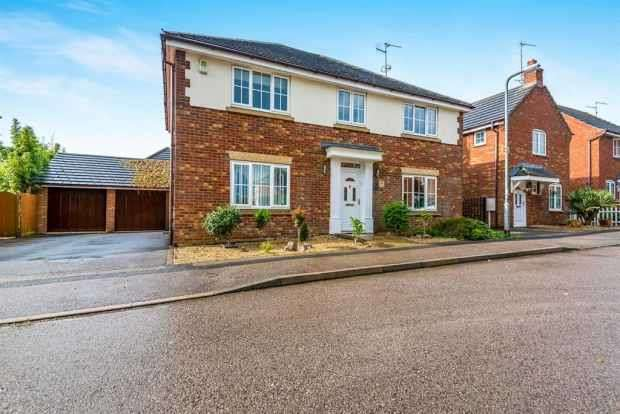 5 Bedrooms Detached House for sale in Morrison Park Road, Northampton, Northamptonshire, NN6 7BJ