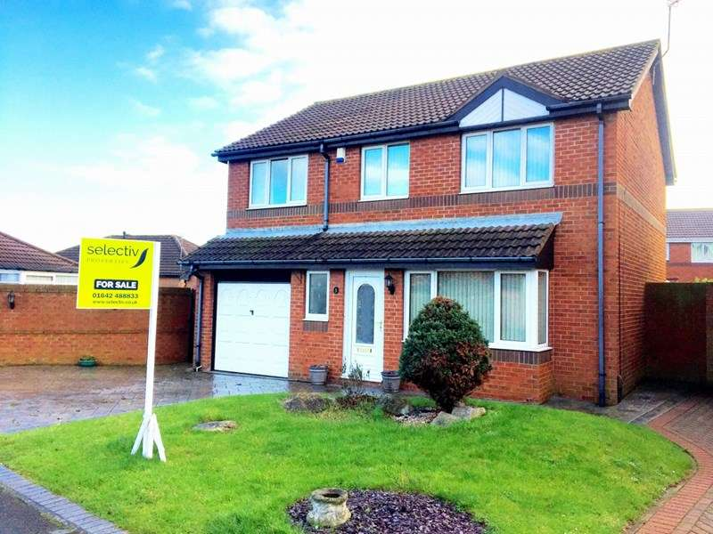 4 Bedrooms Detached House for sale in Hundale Crescent, The Ings, Redcar