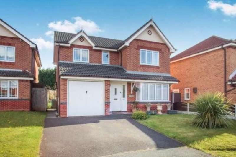 4 Bedrooms Detached House for sale in Top Acre Road, Skelmersdale, WN8