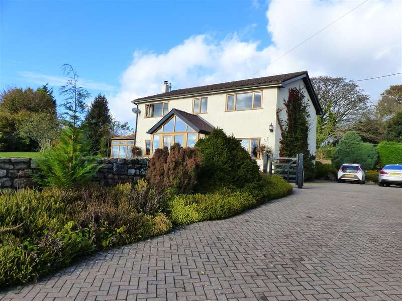 4 Bedrooms Detached House for sale in Greenpool, Earlswood, Shirenewton