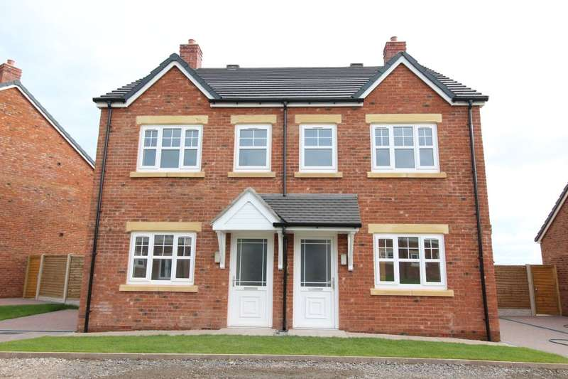 2 Bedrooms Semi Detached House for sale in Harvest Park, Silloth, Wigton, CA7