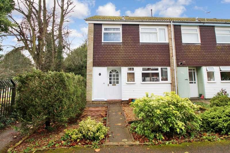 3 Bedrooms End Of Terrace House for sale in Hanger Close, Boxmoor, Hemel Hempstead