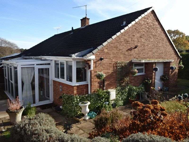 2 Bedrooms Semi Detached Bungalow for sale in Honeybrook Close, Wolverley DY11 5TT