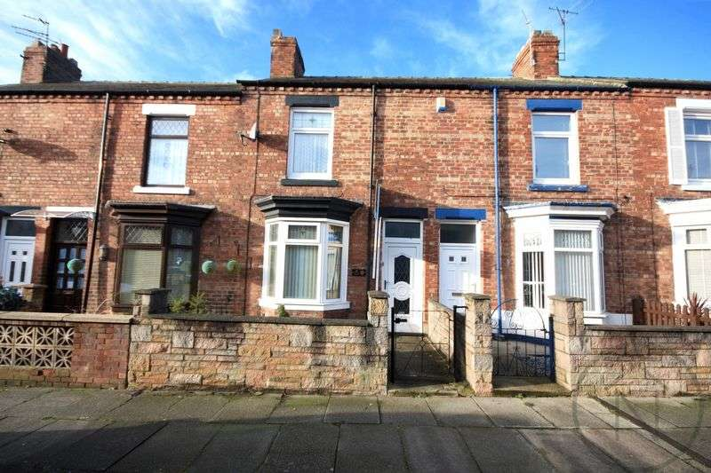 2 Bedrooms Terraced House for sale in Trafalgar Terrace, Darlington