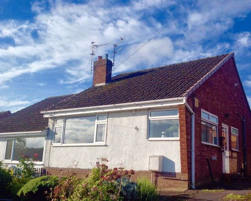 2 Bedrooms Bungalow for sale in Tidnock Avenue, Congleton
