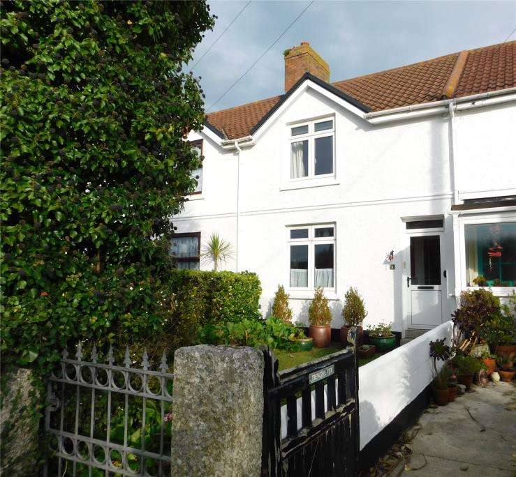 2 Bedrooms Terraced House for sale in Tyringham Row, Lelant