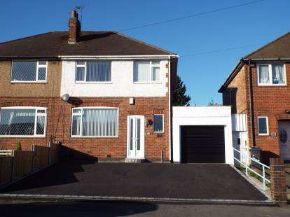 3 Bedrooms Semi Detached House for sale in Parker Drive, Stadium Estate, Leicester, Leicestershire