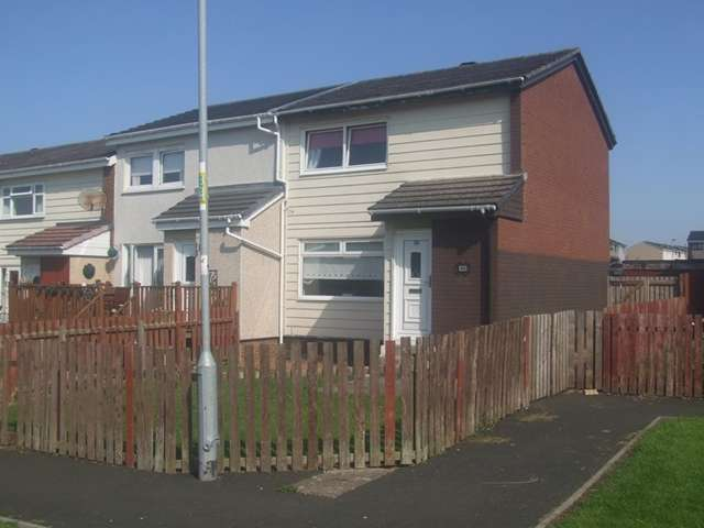 2 Bedrooms End Of Terrace House for sale in Ellisland Wynd, Newarthill, Motherwell. ML1 5HF