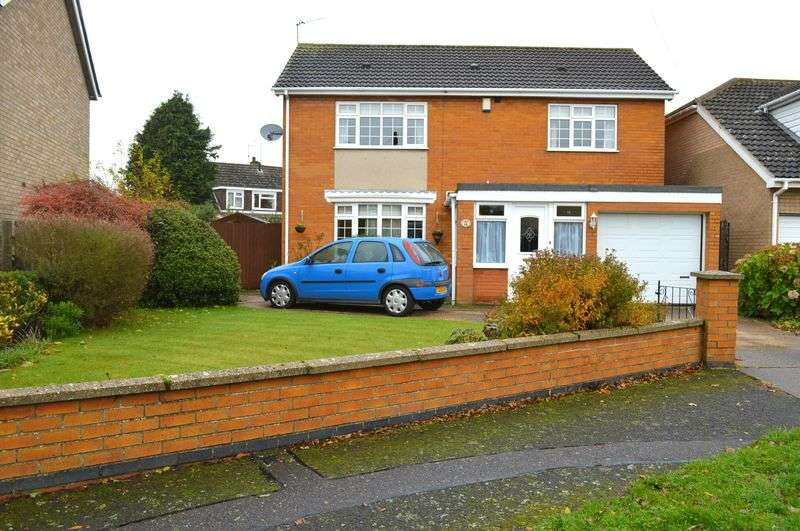 4 Bedrooms Detached House for sale in Bowden Drive, Lincoln