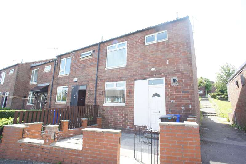 3 Bedrooms End Of Terrace House for sale in Firshill Glade, Sheffield, S4 7DX