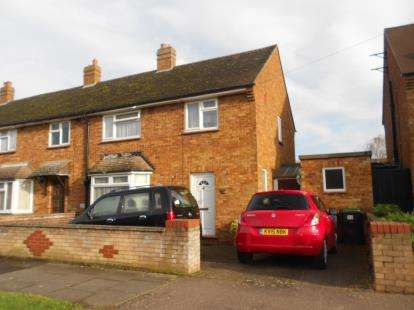 3 Bedrooms End Of Terrace House for sale in Lovell Road, Bedford, Bedfordshire