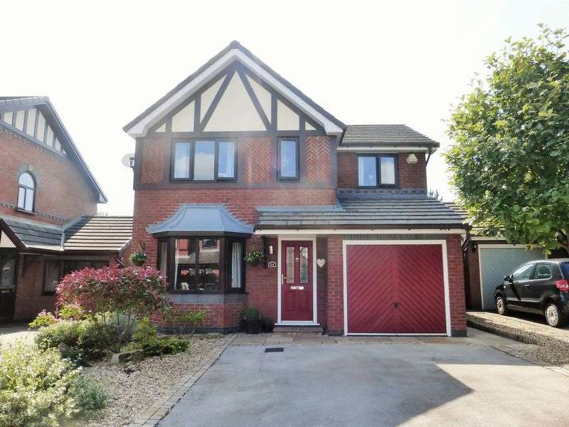 4 Bedrooms Detached House for sale in Meadoway, Tarleton, Preston