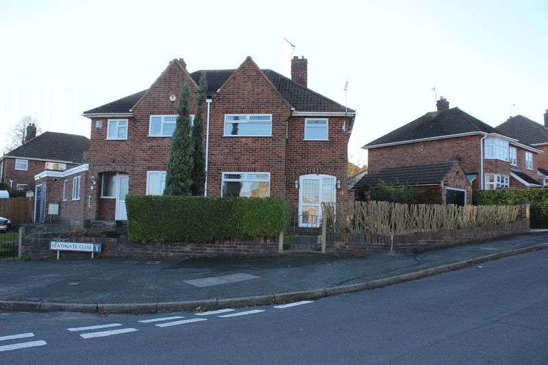 3 Bedrooms Semi Detached House for sale in Kingsgate Avenue, Birstall, Leicester