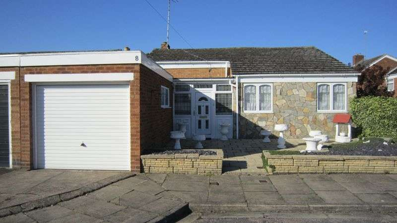 2 Bedrooms Detached Bungalow for sale in Exminster Road, Styvechale, Coventry