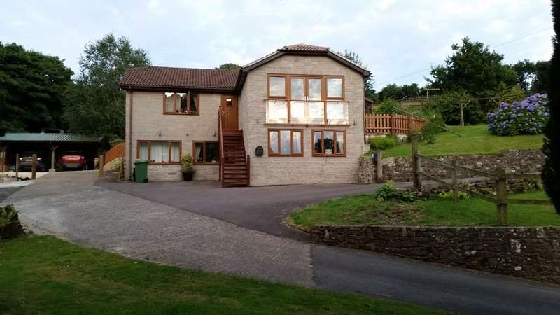 4 Bedrooms Detached House for sale in Mendip road, Stoke st michael, Somerset, BA3