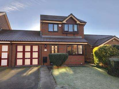 3 Bedrooms Link Detached House for sale in Camberwell Drive, Ashton-Under-Lyne, Greater Manchester