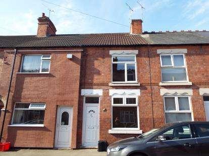 3 Bedrooms Terraced House for sale in Erdington Road, Atherstone, Warwickshire